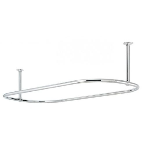 4-410 - Sterlingham Classic Oval Shower Curtain Rail